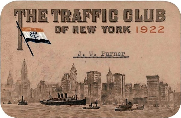 1912 Membership card